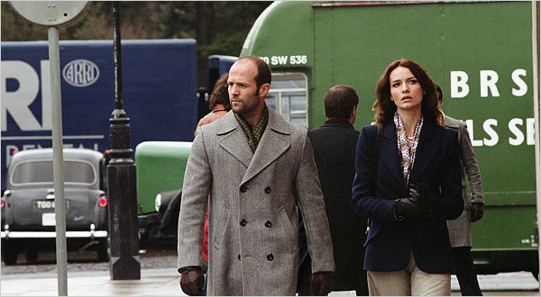 Movie_The Bank Job_Saffron Burrows_Jason Statham