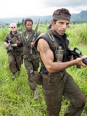 Movie_Tropic Thunder_Ben Stiller_Robert Downey Jr_Jack Black
