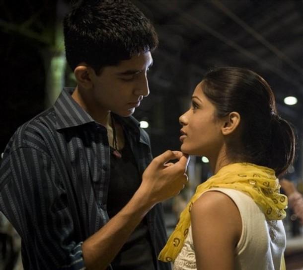 Movie_Slumdog Millionaire_Freida Pinto_Dev Patel