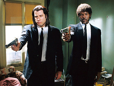 Movie_Pulp Fiction_John Travolta_Samuel L Jackson
