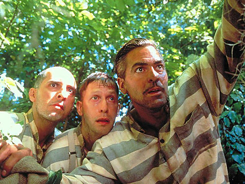 Movie_O Brother Where Art Thou_George Clooney_John Turturro_Tim Blake Nelson