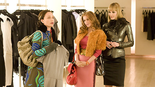 Movie_Confessions of a Shopaholic_Isla Fisher_Kristin Scott Thomas_Leslie Bibb