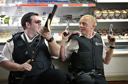 Movie_Hot Fuzz_Simon Pegg_Nick Frost